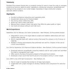 Procurement Analyst Resume Sample by Majestic Looking Procurement Resume 8 Professional Procurement