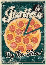 affiche cuisine vintage vintage sérigraphié affiche de la cuisine italienne cliparts