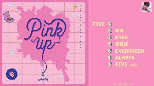 5 up photo album album apink 에이핑크 pink up 6th mini album