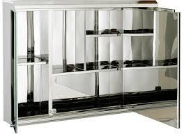 3 Door Mirrored Bathroom Cabinet 3 Door Mirror Bathroom Cabinet 800x550x130mm Roma Cabinets Roma
