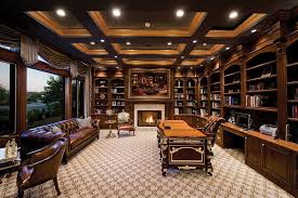 beautiful home offices gorgeous ideas for a sizzling home office with fireplace