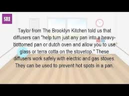 Simmer Plate For Gas Cooktop What Is A Heat Diffuser For Gas Stove Youtube