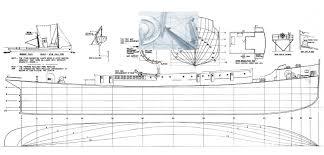 vintage 1 48 scale 48 1 2 radio control model boat plans german