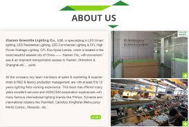 Commercial Lighting Company Xiamen Greenlite Lighting Co Ltd Led Bulb Led Corn Light