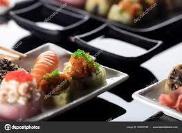 jeu de cuisine sushi jeu de sushi cuisine japonaise photographie zolnierek 164007382