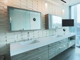 furniture large mirror sliding door bathroom vanity and rectangle
