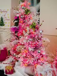 photos hgtv bold bright ornaments adorn pink tree idolza