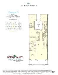 Waterfront Floor Plans New Waterfront Condos In Oceanside 700 South Strand