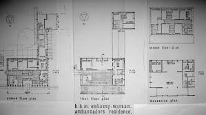 Embassy Floor Plan by Poland Warsaw Room For Diplomacy