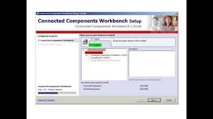how to install connected components workbench ccw software