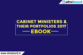 Latest Cabinet Ministers Cabinet Ministers And Their Portfolios Static Gk Ebook Free Download
