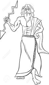 greek gods coloring pages zeus corpedo com
