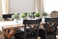dining room table decorations ideas building rustic dining room table decorating hutch when not in