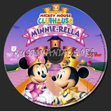 mickey mouse clubhouse minnie rella dvd label dvd covers
