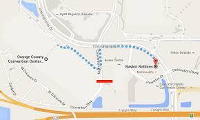 orange county convention center map inta tweetup 2016 orlando at baskin robbins singapore patent