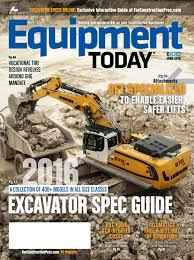 equipment today june 2016 by forconstructionpros com issuu