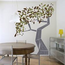 tree wall painting wall art for dining room ideas decolover net