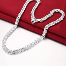 silver necklace chains wholesale images Lostpiece 2017 new trendy women men 39 s 925 sterling silver necklace jpg