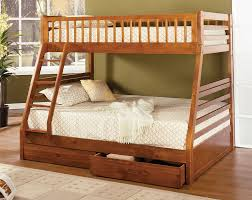 Vintage Solid Wood Bunk Beds Med Art Home Design Posters - Solid oak bunk beds with stairs