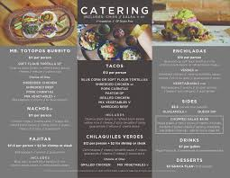 catering totopos