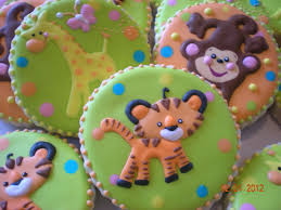jungle themed baby shower cookies cookies baby