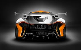 orange mclaren wallpaper mclaren p1 gtr rear view wallpaper 48585 2560x1600 px