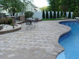 Paver Patio Nj Patio Installation Nj Brick Patio Patio Sted Concrete