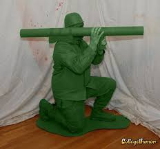Green Army Man Halloween Costume 50 Greatest Halloween Costumes 2010 Collegehumor