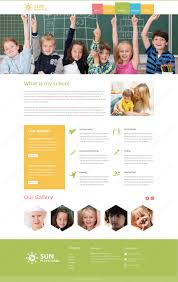 play school brochure templates play school psd website template webbytemplates