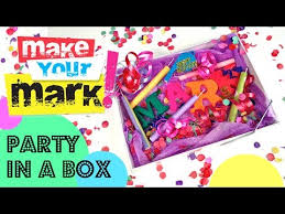 party in a box how to make a party in a box