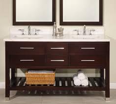 rustic bathroom sinks and vanities cool 60 inch double sink modern cherry bathroom vanity with open