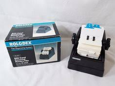 Rolodex Desk Accessories Rolodex Autodex Pop Up Address Telephone Flip File Black Holds