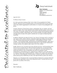 letter of rec from assistant principal by shaina johnston issuu