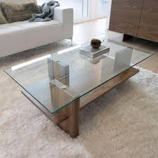 Modern Glass Coffee Tables Zen A Great Example Of A Modern Glass Wood Coffee Table The