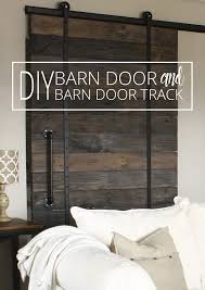 Cing Bed Frame Diy Barn Door And Diy Barn Door Track That Won T The Bank