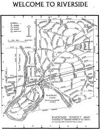 riverside map maps of riverside frederick olmsted society