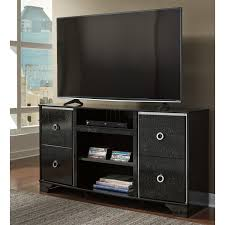 Ashley Furniture Distribution Center Houston Tx Ashley Furniture Amrothi Lg Tv Stand In Black Local Furniture Outlet
