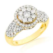 ladies rings diamond images Ladies diamond rings 14k cluster diamond ring 2ct a girl 39 s best jpg