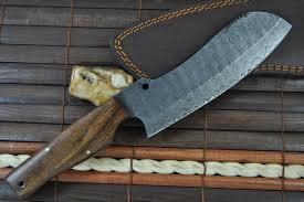 Unique Kitchen Knives Damascus Chef Knife Handcrafted Unique Design Perkin