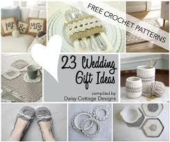 wedding gift ideas for wedding crochet patterns 23 free crochet patterns cottage