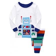 monkey boys pajamas 2 pieces clothes baby pyjamas sleeve children