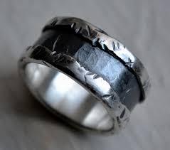 unique mens antique wedding rings with vintage scroll design mens