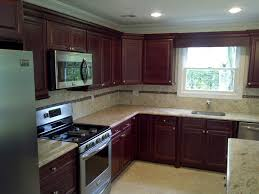 Photo Of Kitchen Cabinets Medium Brown Kitchen Cabinets Pre Assembled U0026 Ready To Assemble
