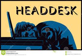 Head Desk Meme - bang your head clipart alleghany trees