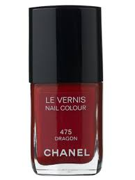 chanel nail polish in dragon perfect red for my asian skin