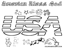 usa flag coloring pages funycoloring