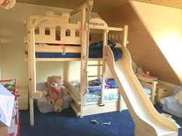 Bunk Bed With Slide Ikea Bunk Bed Slide Ikea With In Small Rooms Loft Pine