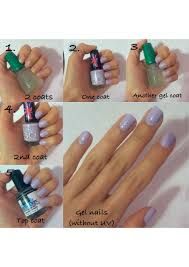 how to cure gel nails without a uv light easy gel nails without uv using gelous gel coat any nail polish