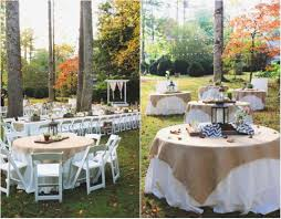Wedding Reception Table Settings Rustic Backyard Wedding Reception Ideas Awesome Rustic Wedding