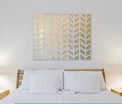 Best 25 Gold Wall Decor Ideas Pinterest Stencil Wall Art